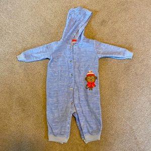 3 pairs 6-9 month infant baby pajamas & sleep sack